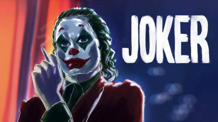 映画ジョーカー(ホアジョ)の絵。iPadPro CLIPSTUDIOイラスト&メイキング